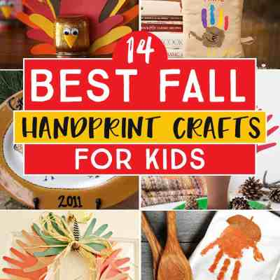 25 Fall Handprint Crafts You'll Treasure Forever