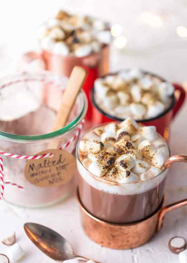 Make your own malted hot chocolate mix. Plus so many other hot drink recipes I can't wait to try.