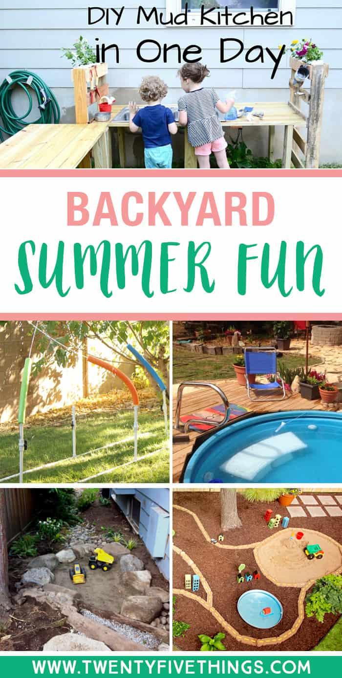 25 fun diy backyard