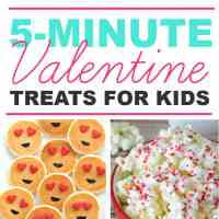 5-Minute Easy Valentine's Day Treats for Kids