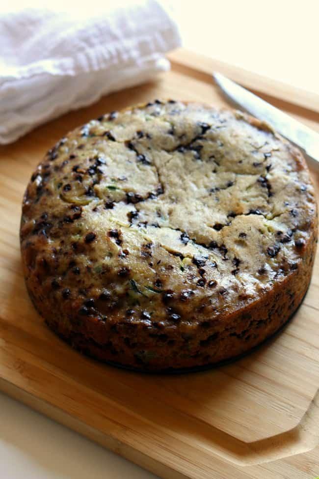 Chocolate Chip Zucchini Bread Instant Pot recipe.