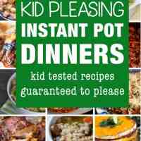 25 Kid Friendly Instant Pot Dinner Recipes