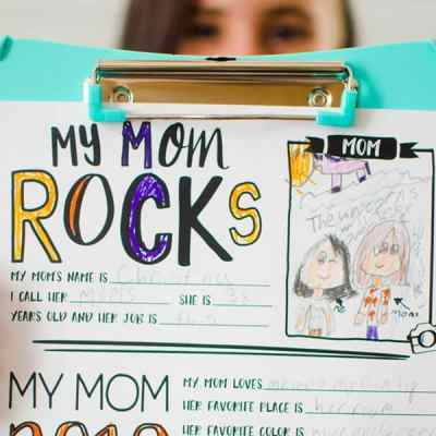 Mother's Day Questionnaire Printable