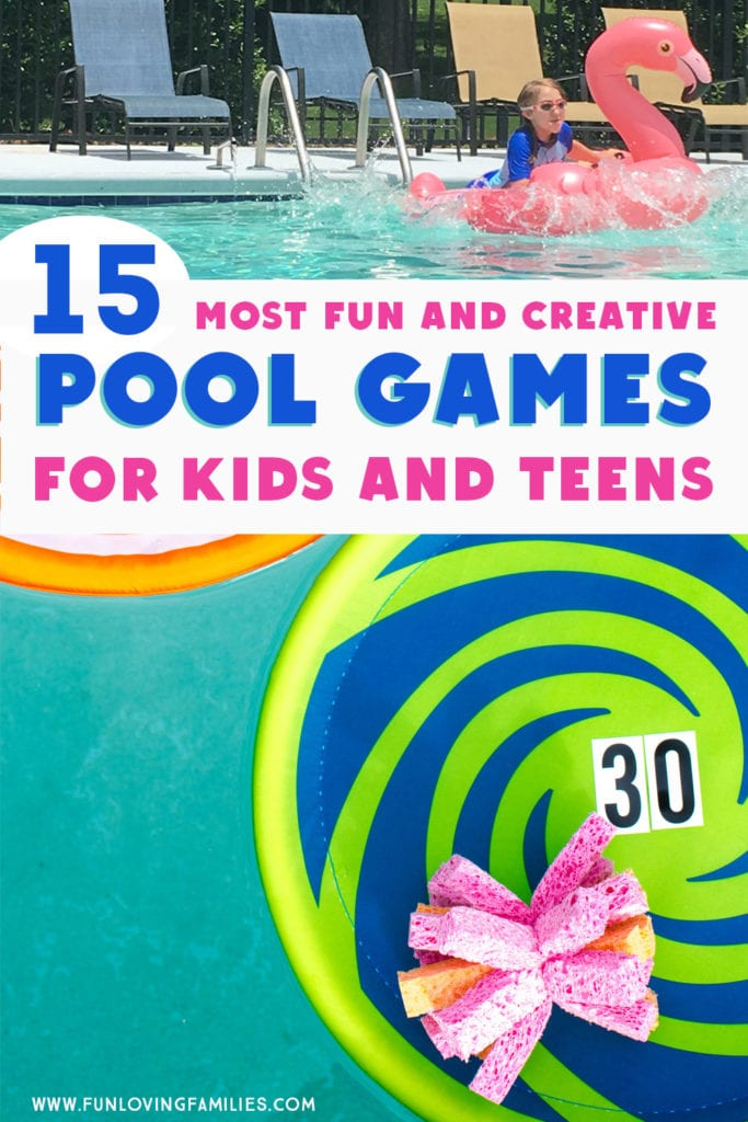 15 fun pool party