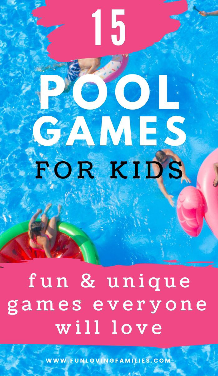 pool games for kids to play