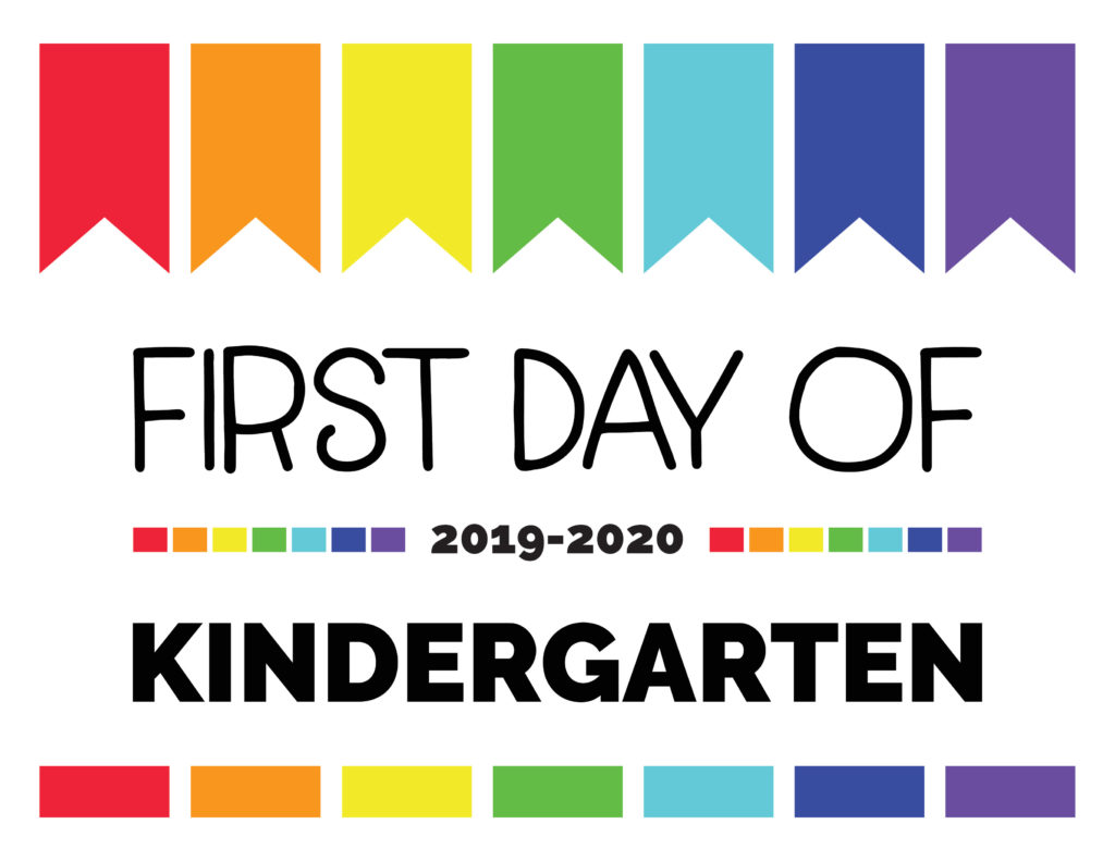 First Day Of School Signs Free Printables For All Grades