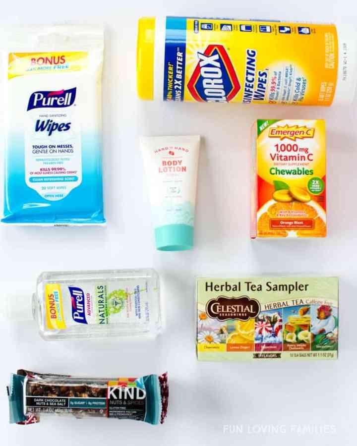 Teacher survival kit ideas.