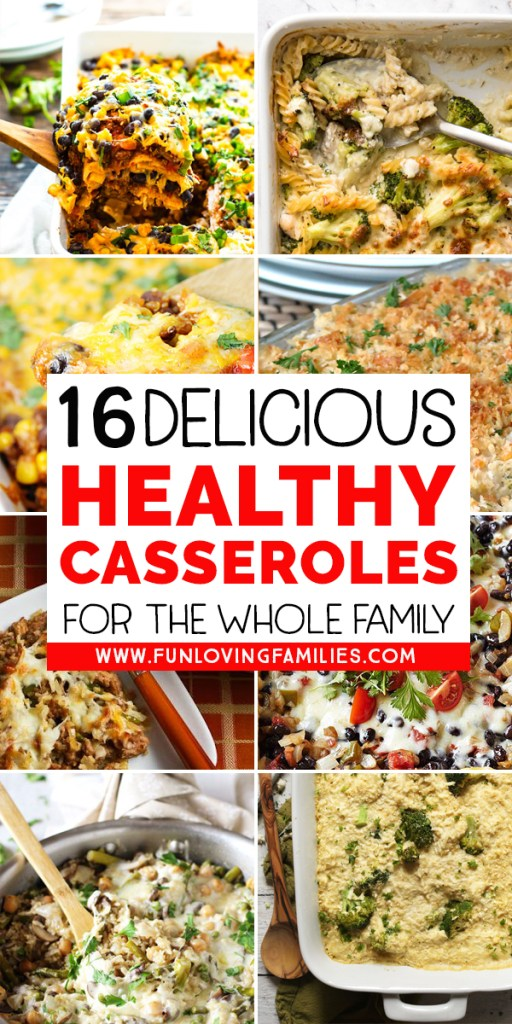 healthy casserole dinner recipes