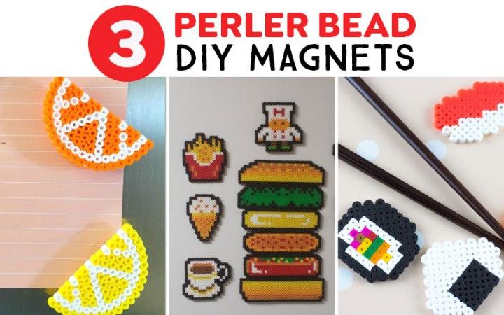 perler bead magnets for your fridge