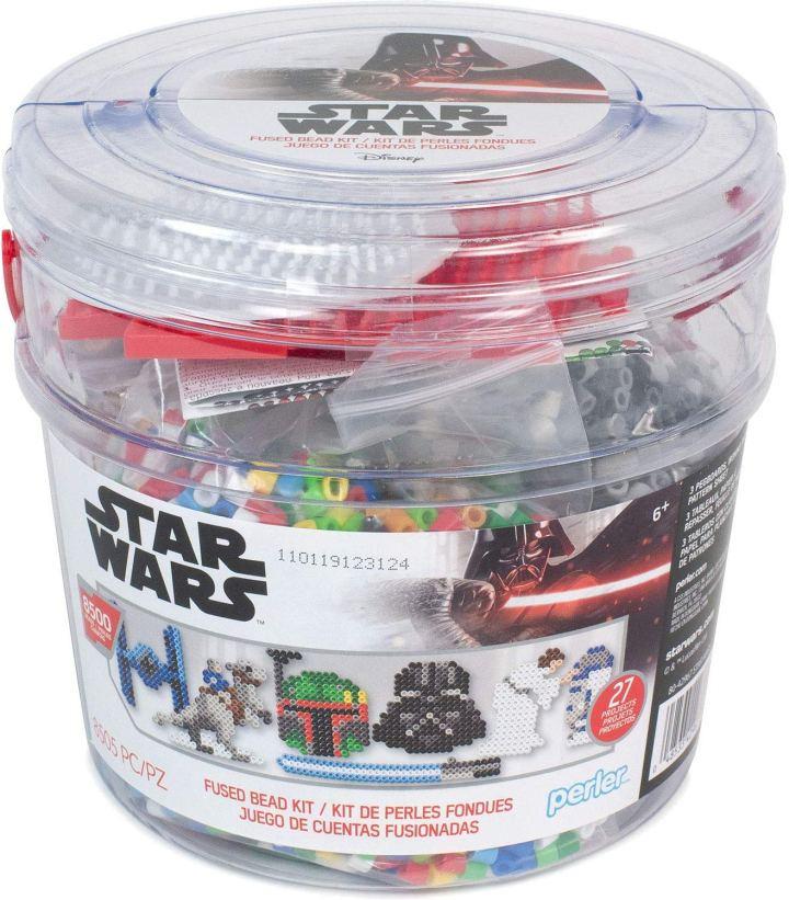 Star Wars Perler Bead bucket kit