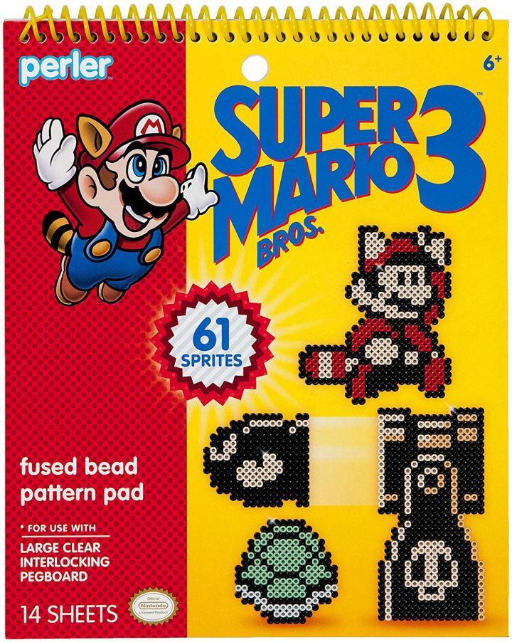 Mario perler bead book of patterns