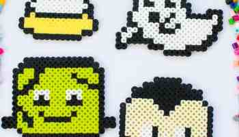 Christmas Perler Bead Patterns - Fun Loving Families