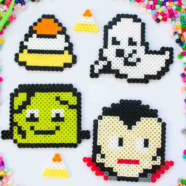 halloween perler bead patterns for kids