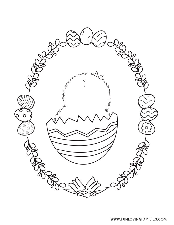 - 9 Easter Coloring Pages For Kids (Free Printables) - Fun Loving Families