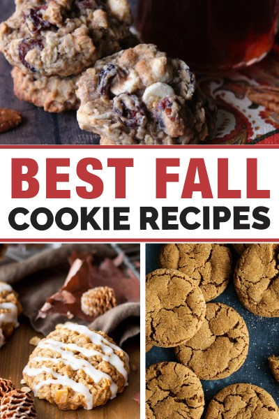 recipes for Fall cookies