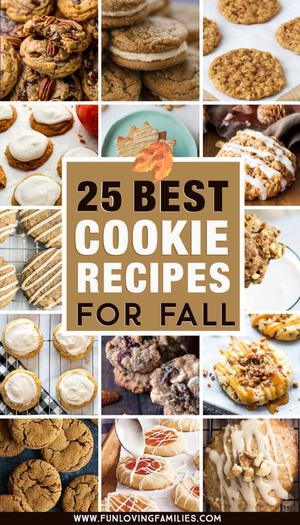 25 best cookie recipes for fall