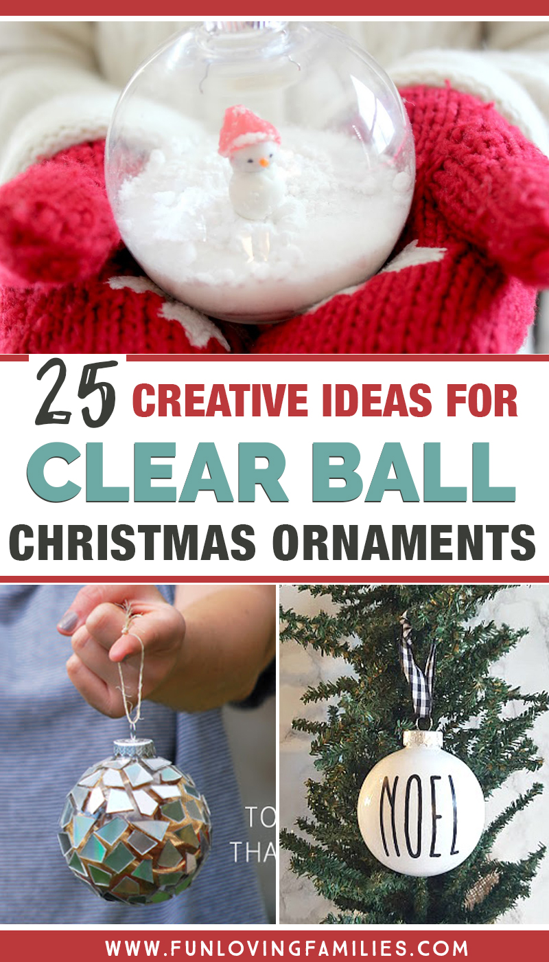 hight resolution of 25 Plastic Ball Ornament Decorating Ideas that are Fun and Easy - Fun  Loving Families