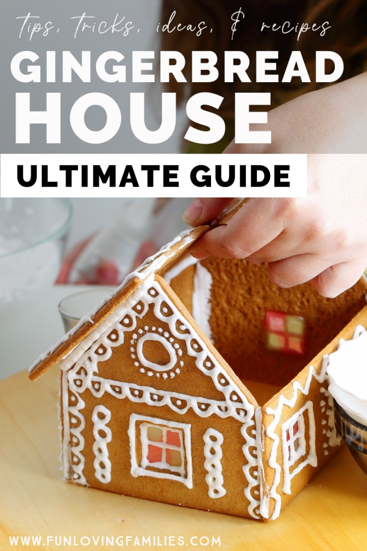 gingerbread house making tips, ideas, and recipes