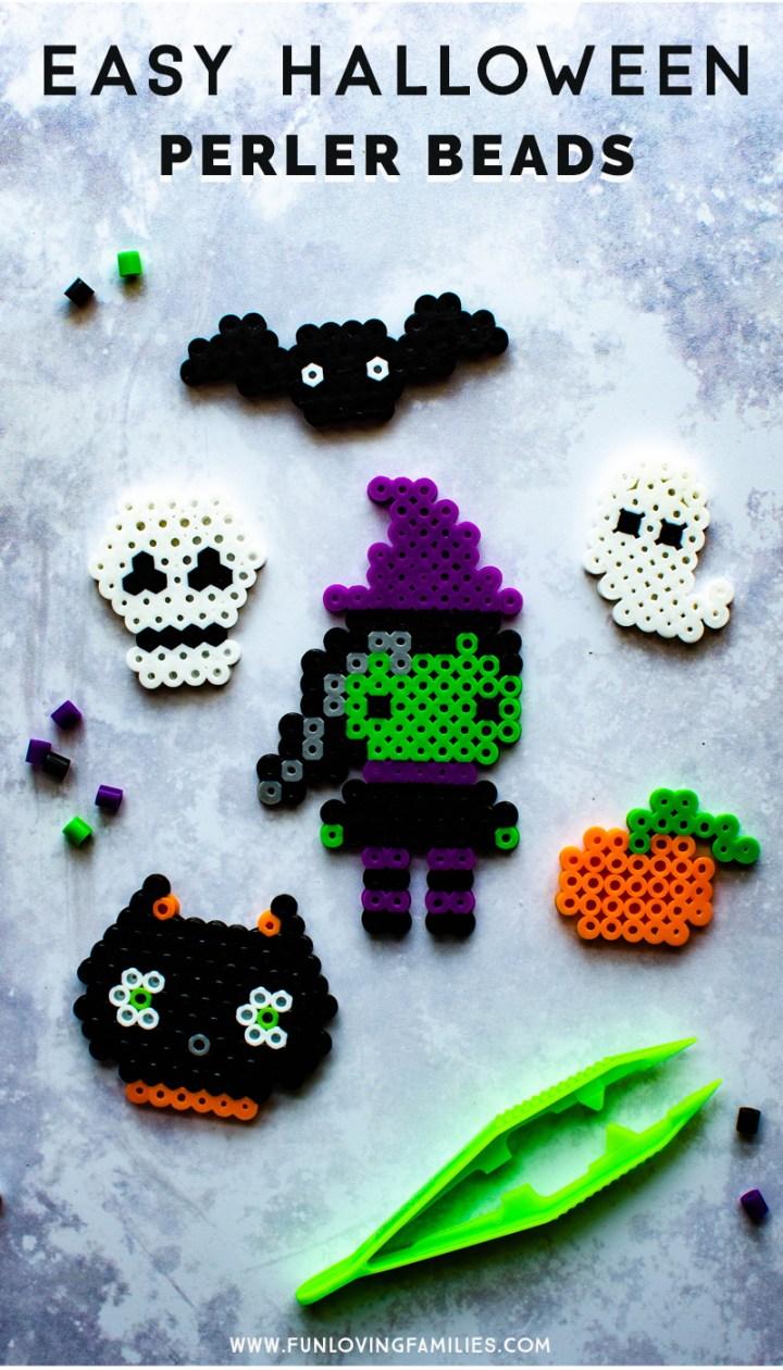 10 Easy Halloween Perler Bead Patterns Fun Loving Families
