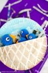 pom pom bluebirds and paper plate nest kids craft