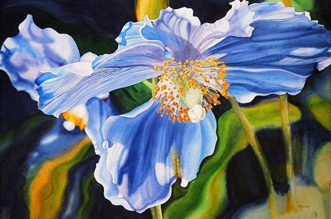 watercolor-flower-paintings-by-marney-ward- (5)