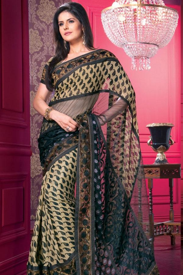 zarine-khan-glorious-saree-collection- (4)