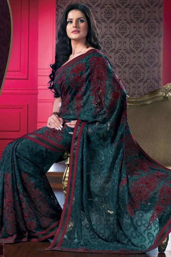 zarine-khan-saree-collection- (6)