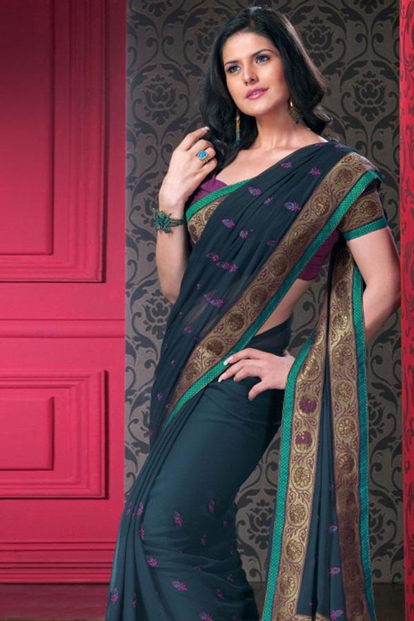 zarine-khan-saree-collection- (10)