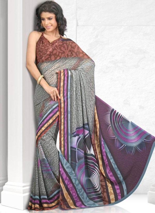 printed-saree-designs-for-summer- (4)