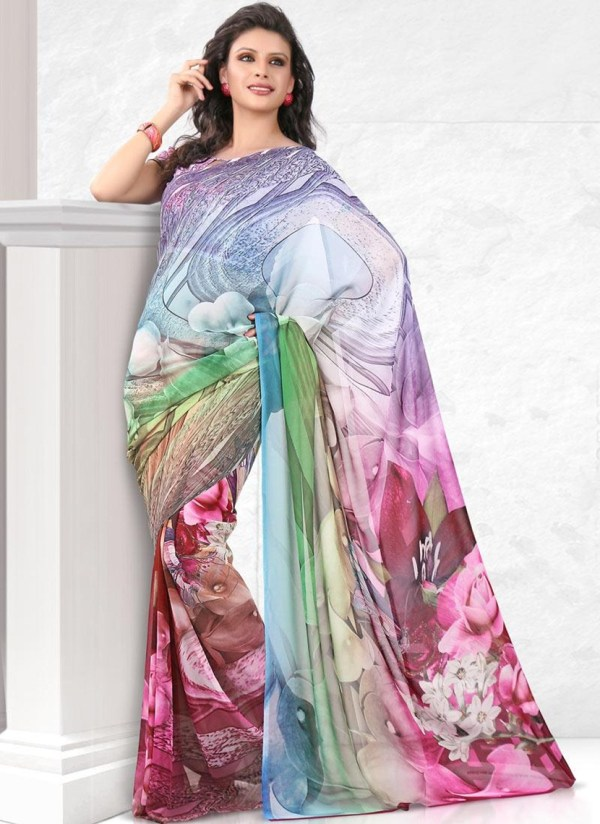 printed-saree-designs-for-summer- (6)