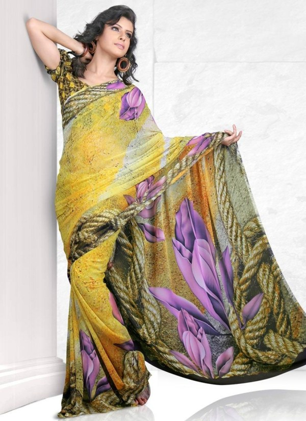printed-saree-designs-for-summer- (18)