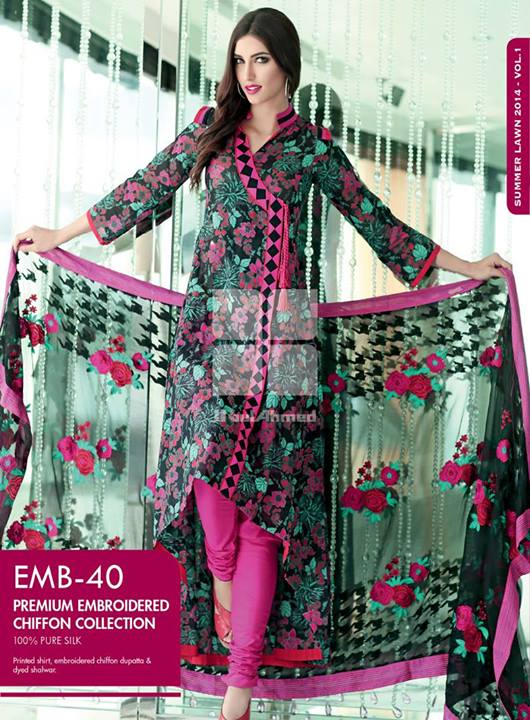 gul-ahmed-embroidered-chiffon-lawn-collection-2014- (11)