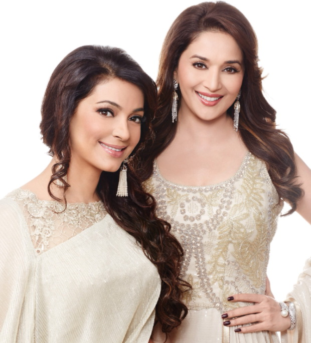 madhuri-dixit-and-juhi-chawla-photoshoot-for-filmfare-magazine-march-2014- (2)