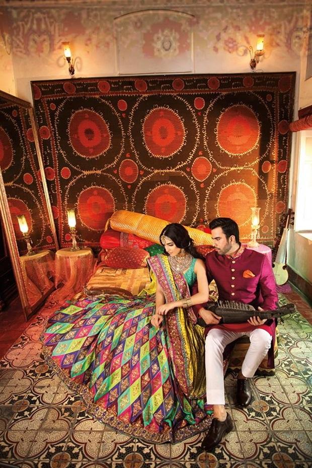 maya-ali-and-junaid-khan-photoshoot-for-nomi-ansar-bridal-wear- (3)