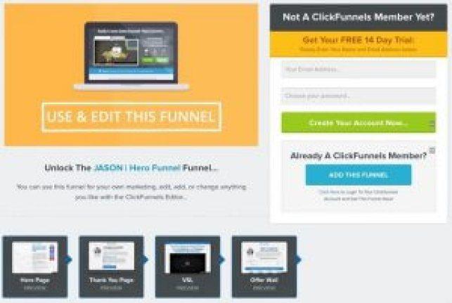 Exemples de sites Web Clickfunnels Divine