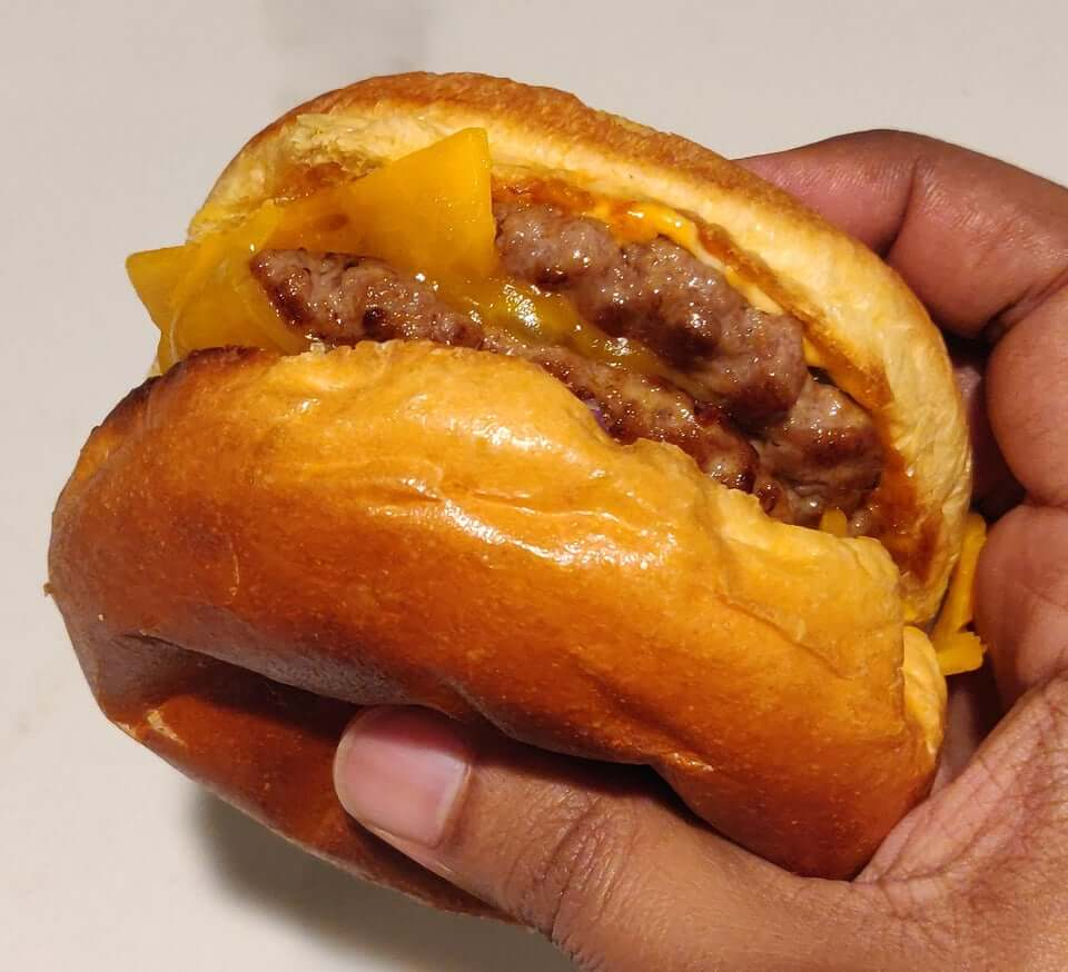 Cheeseburger on Brioche Bun
