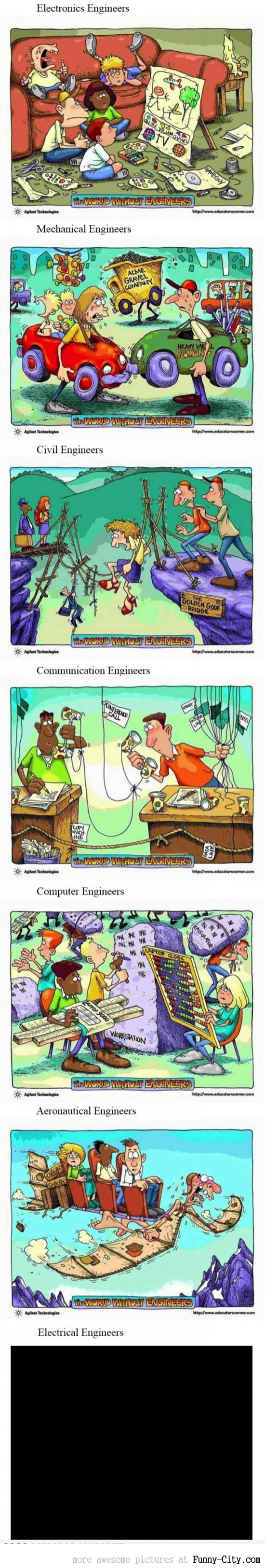World Without Engineers Cartoons
