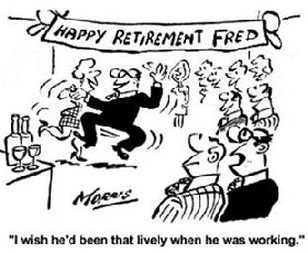 funny retirement speeches leaving