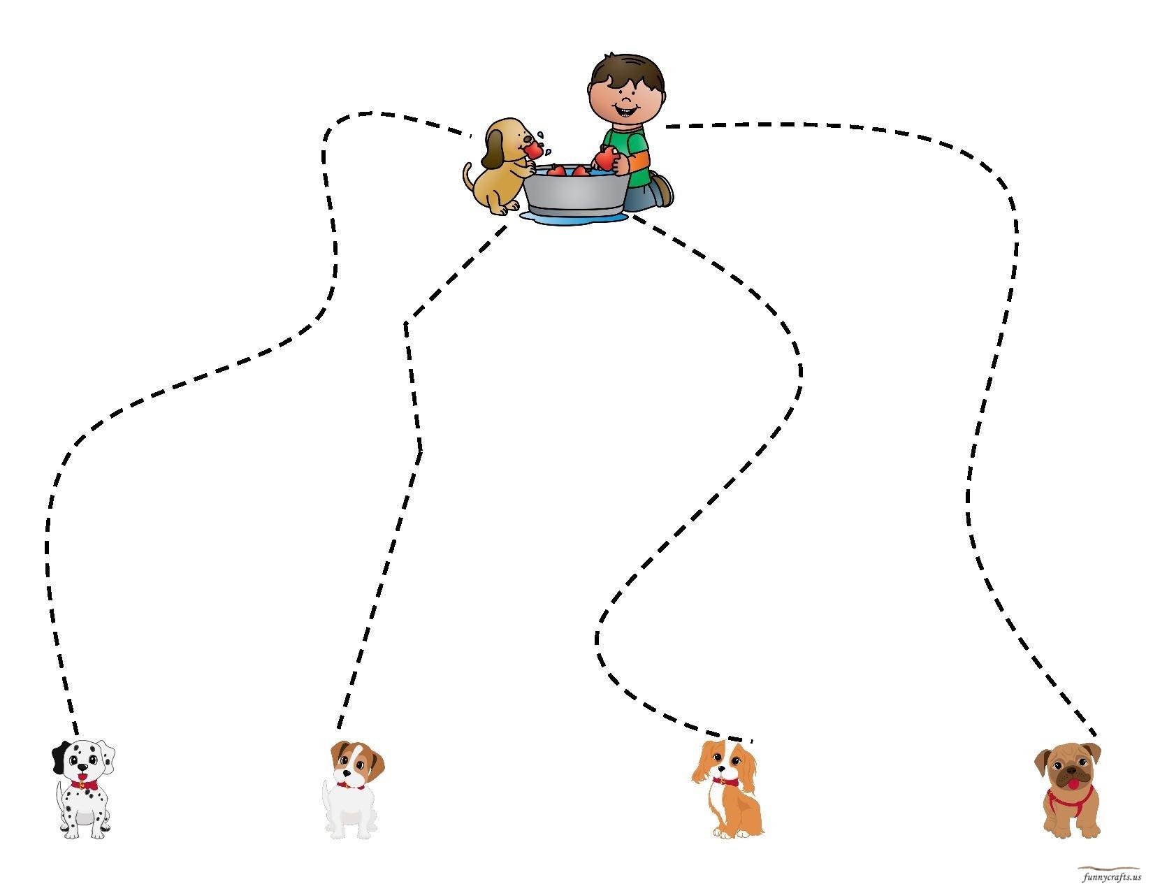 Apple Cutting Activiyt Preschool And Homeschool