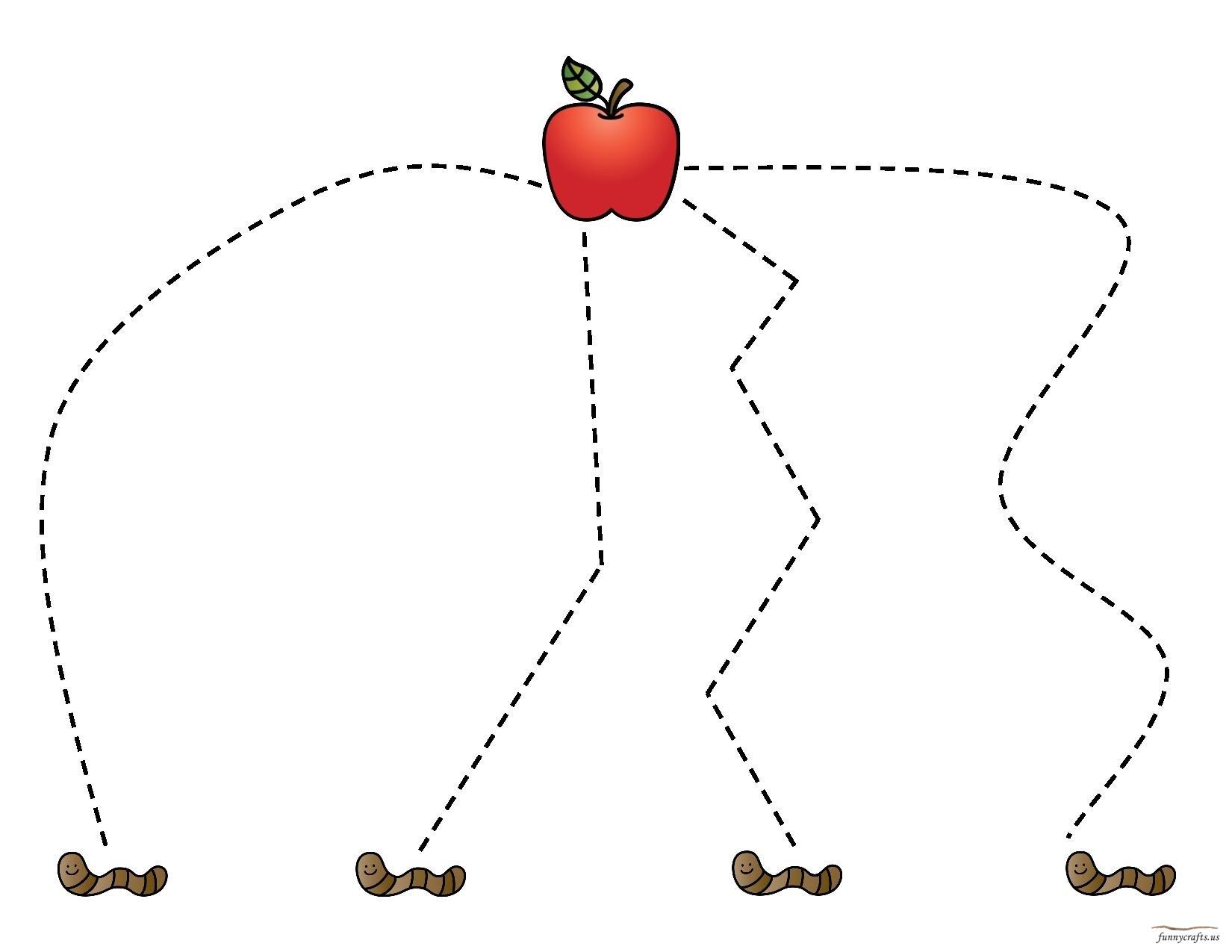 Apple Cutting Preschool And Homeschool