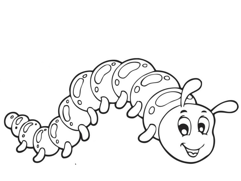 caterpillar coloring pages « Preschool and Homeschool