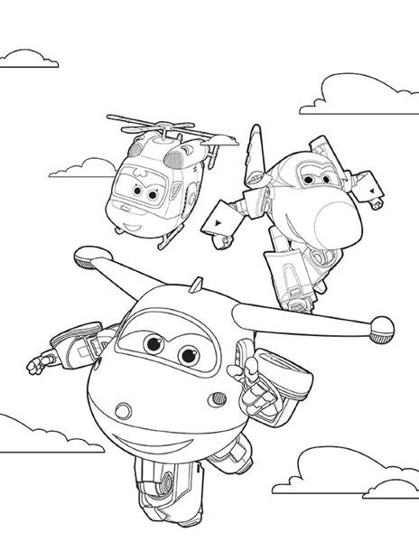 super wings coloring page « Preschool and Homeschool