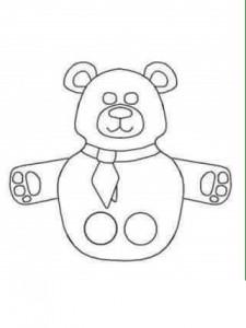 finger puppet worksheets bear « funnycrafts