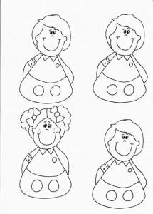 finger puppet worksheets children « funnycrafts