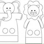 finger puppet worksheets farm animals « funnycrafts