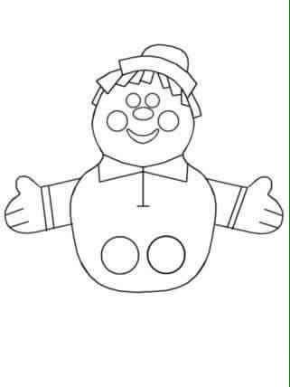 finger puppet worksheets for toddlers « funnycrafts