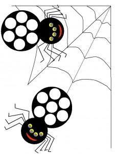 spider do a dot « Preschool and Homeschool