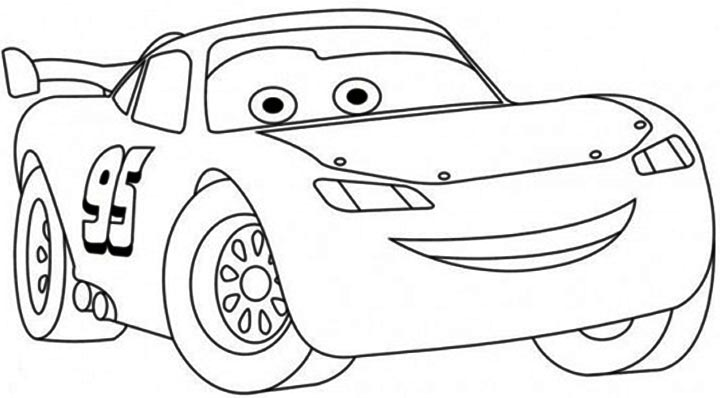 Lightning Mcqueen coloring pages (2) « funnycrafts