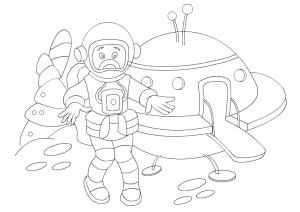 Astronaut Worksheets For Preschool Funny Crafts. Astronaut