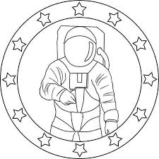 astronaut coloring pages for preschoolers (5) « funnycrafts
